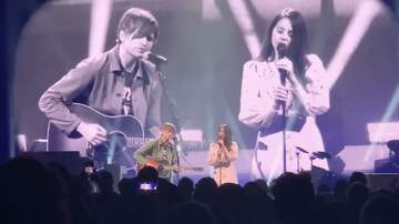 Frank Bell - Lana Del Rey & Ben Gibbard perform a Death Cab Classic at The Bellco