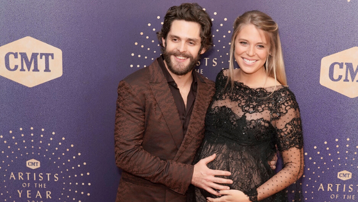 Thomas Rhett Hints Daughters Might Make An Appearance At The CMA Awards