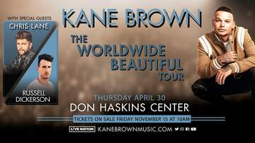 None - Kane Brown at the Don Haskins Center