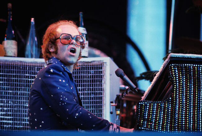 (FILE) Singer Elton John To Turn 60