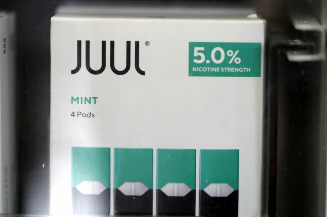 E-Cigarette Maker Juul To Stop Selling Its Mint Flavor