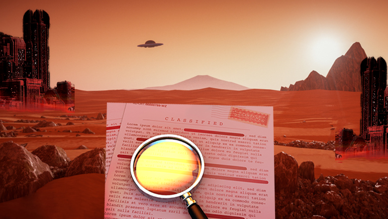 "Declassified CIA Documents Show They ""Saw"" Ancient Civilization On Mars 