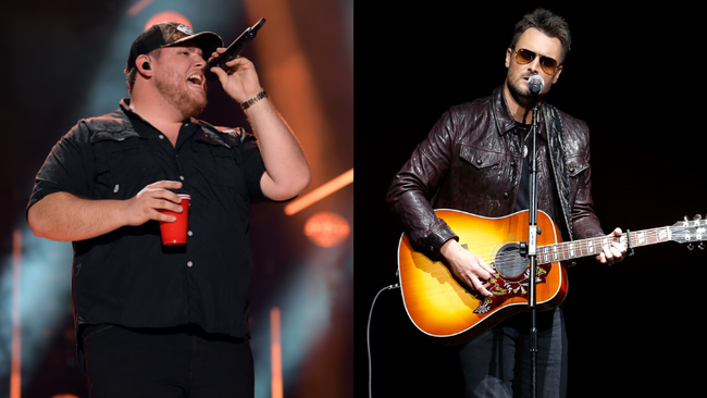 Luke Combs Duets With His Hero Eric Church On New Song 'Does To Me'