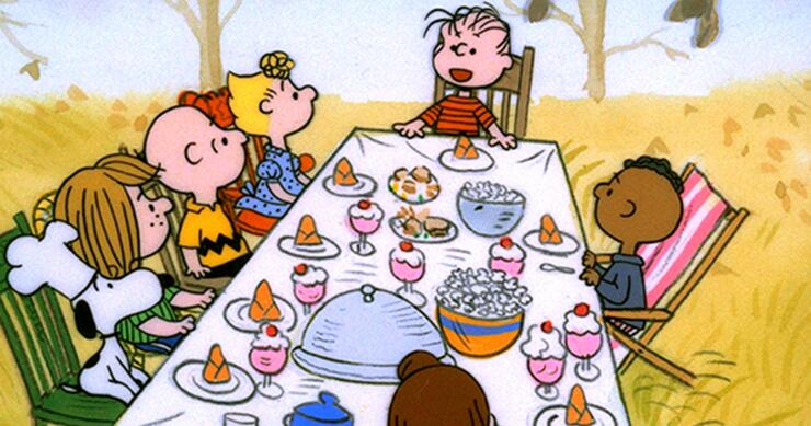 Image result for charlie brown thanksgiving