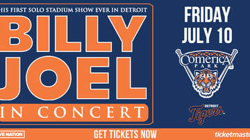 None - Billy Joel at Comerica Park
