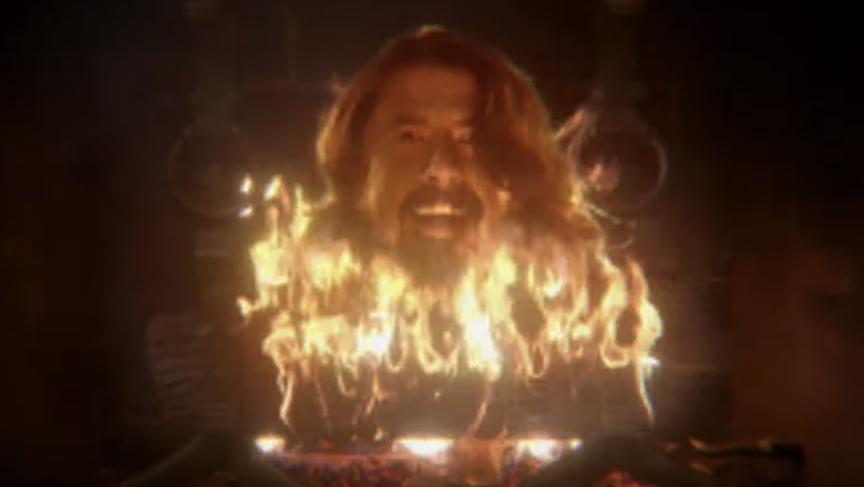 Dave Grohl Is A Disembodied Head In Taylor Hawkins 'I Really Blew It' Video