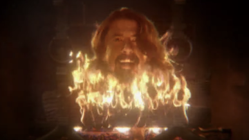 Rock News - Dave Grohl Is A Disembodied Head In Taylor Hawkins 'I Really Blew It' Video