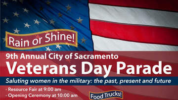 The Afternoon News with Kitty O'Neal - City of Sacramento Veteran's Day Parade on Monday