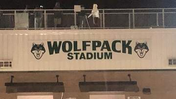 Photos - Friday night football with The Bull - Greenbrier Wolfpack 11/8/19