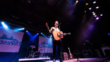 Cities 97.1 Gives Back Blog - PHOTOS: Andy Grammer at Cities Gives Back Live 2019