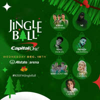 Win a Pair of Tickets To The KISS FM Jingle Ball In Chicago