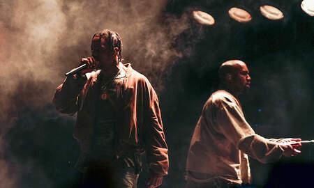 Trending - Kanye West Makes Surprise Appearance At Travis Scott's Astroworld Festival