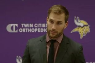 VIDEO: Kirk Cousins meets the press after big Sunday Night win | KFAN 100.3