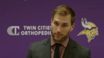 Vikings Blog - VIDEO: Kirk Cousins meets the press after big Sunday Night win | KFAN 100.3