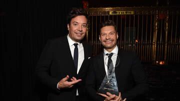 Ryan Seacrest - Jimmy Fallon Inducts Ryan Seacrest Into Radio Hall of Fame