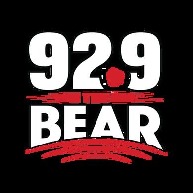 92.9 The Bear logo