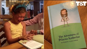 Fay - This Dad Turned His Daughter's Bedtime Story Into A Book & I'm Crying