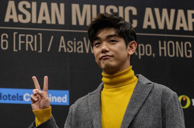 HONG KONG-SKOREA-ASIA-MUSIC-AWARDS