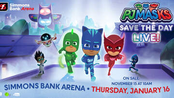 None - PJ Masks Save The Day LIVE! at Simmons Bank Arena