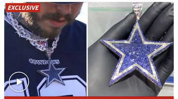 Rucker - Posty Dropped 250k On A New Cowboys Chain