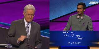 Teri Ann - Alex Trebek Brought To Tears On Jeopardy - Grab The Tissues!