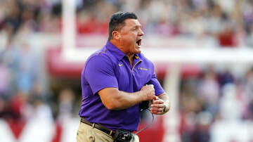 Louisiana Sports - Orgeron Says Locker Room Comments Fiery Moment