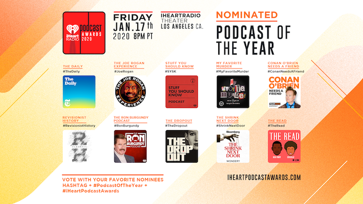 Podcast Of The Year Nominees
