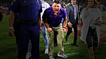 The Locker Room - LSU Player Secretly Films Ed Orgeron Saying 'F**k You' to Alabama After Win