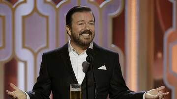 Alden - Ricky Gervais To Host Golden Globes For The Very Last Time