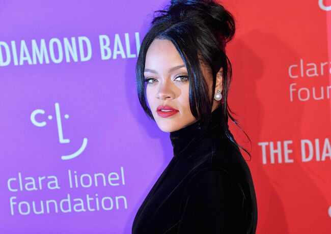 US-CHARITY-BALL-ENTERTAINMENT-RIHANNA