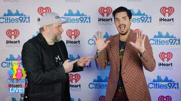 image for Paul Fletcher interviews Adam Lambert backstage at Cities Gives Back Live
