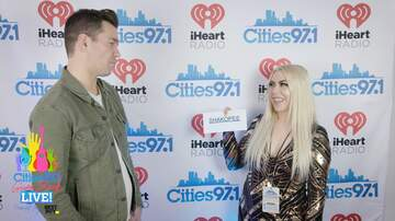 Cities 97.1 Gives Back Blog - Mollie Kendrick interviews Andy Grammer at Cities Gives Back Live 2019