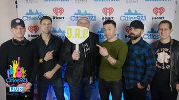 Cities 97.1 Gives Back Blog - Paul Fletcher interviews O.A.R backstage at Cities Givse Back Live 2019
