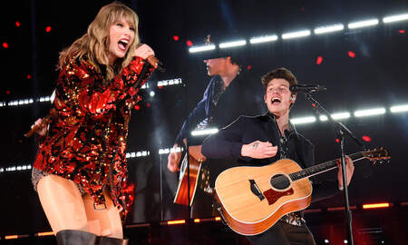 Entertainment News - Taylor Swift & Shawn Mendes Come Together On Romantic 'Lover' Remix: Listen