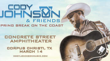 image for Cody Johnson & Friends Spring Break On The Coast 2020