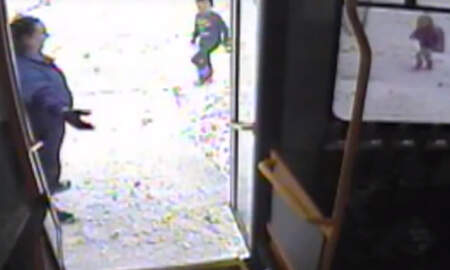 National News - Wisconsin Bus Driver Rescues Two Kids Wandering Coatless In Frigid Weather