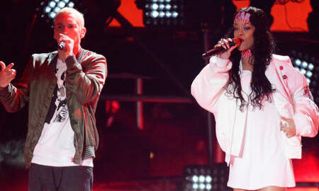 Trending - Eminem's Rep Addresses His Lyric About Siding With Chris Brown Over Rihanna