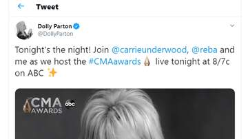 Bree - Tonight is the Night.. Make Sure to Watch the 53rd Annual CMA Awards!