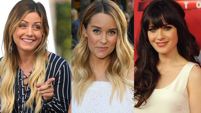 Zooey Deschanel, Lauren Conrad & Carly Waddell All Gave Sons The Same Name