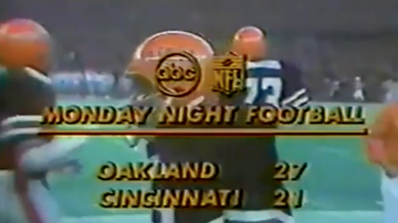 Lance McAlister - Watch: Archie Griffin and Bengals vs Raiders, MNF 1978