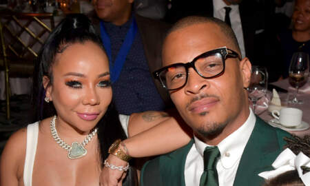 Trending - T.I.'s Wife Tiny Rolls Her Eyes When Asked About Deyjah Harris