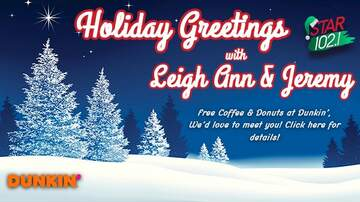 None - Holiday Greetings with Leigh Ann & Jeremy!
