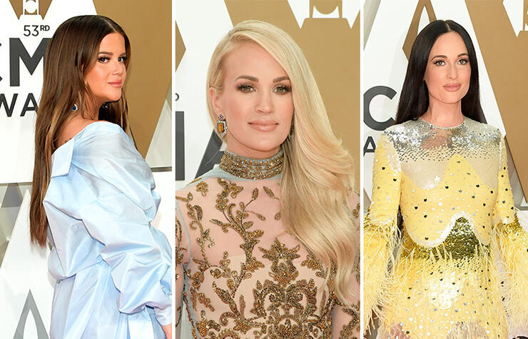 CMA 2019 Red Carpet: Kacey Musgraves, Carrie Underwood and More  | iHeartRadio