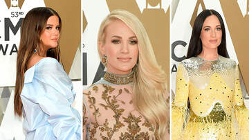 iHeartRadio Spotlight - CMA 2019 Red Carpet: Kacey Musgraves, Carrie Underwood and More