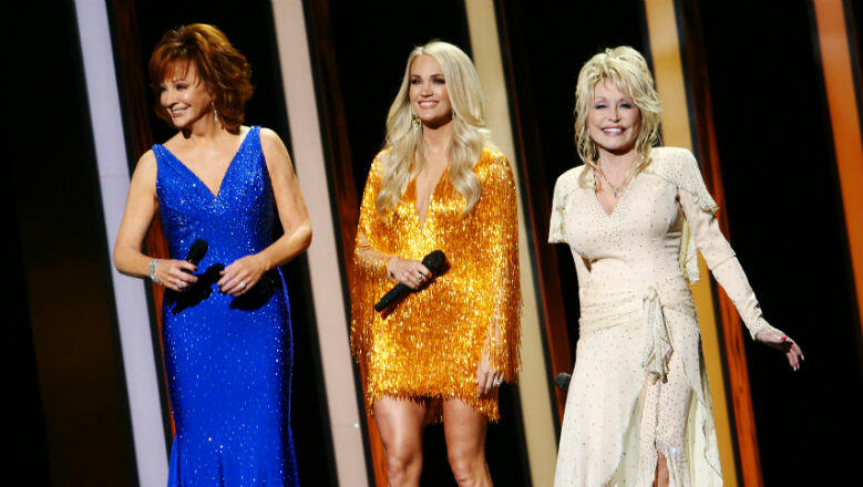 Carrie Underwood, Dolly Parton & Reba Open CMAs With Epic Tribute To Women