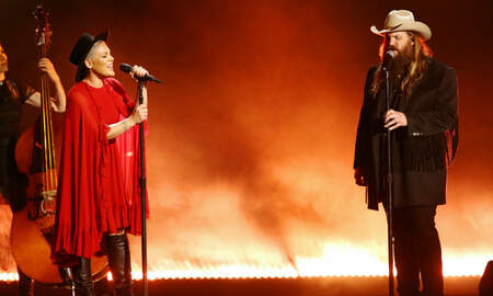 Trending - Pink & Chris Stapleton Team Up For 'Love Me Anyway' Collab At 2019 CMAs