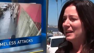 Qui West - California Woman Says A Homeless Man Poured Diarrhea On Her Head!