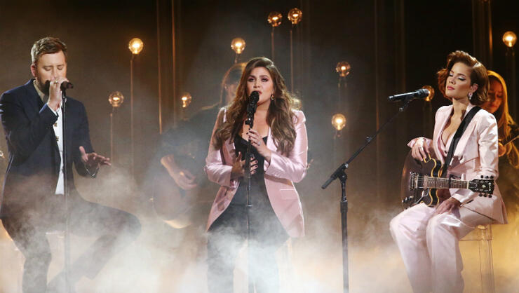 Halsey Lady Antebellum Deliver Epic Country Pop Duet At The 2019