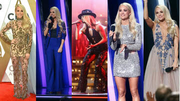 iHeartRadio Spotlight - Every Look Carrie Underwood Wore During the 2019 CMA Awards