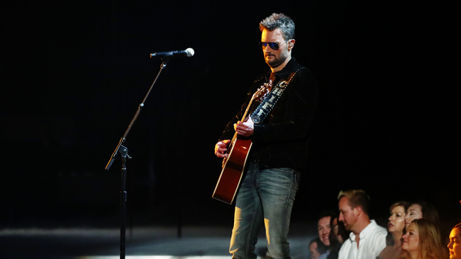 Eric Church Strips Down 'Some Of It' At The 2019 CMA Awards